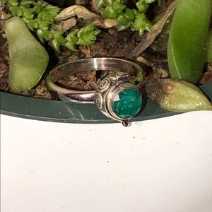 NEW! Emerald Poison Ring